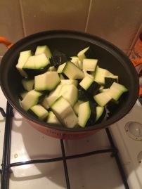 Doe de stukken met een beetje olie in de pan